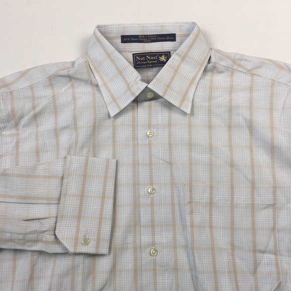dd15d195e937 Nat Nast Shirts | Mens Dress Shirt 1653233 A9216 | Poshmark